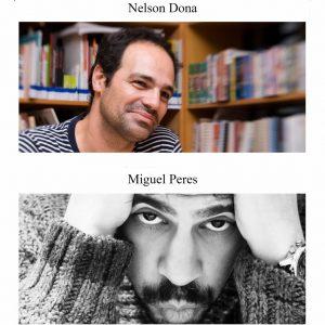 Nelson Dona e Miguel Peres na Tertúlia BD @ Casa do Alentejo | Lisboa | Lisboa | Portugal
