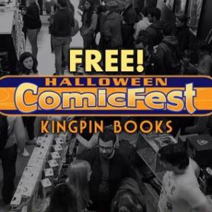 Free Halloween Comic Fest na Kingpin Books @ KingpinBooks   Lisboa   Lisboa   Portugal